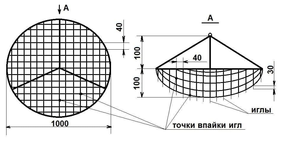Конструкция люстры чижевского